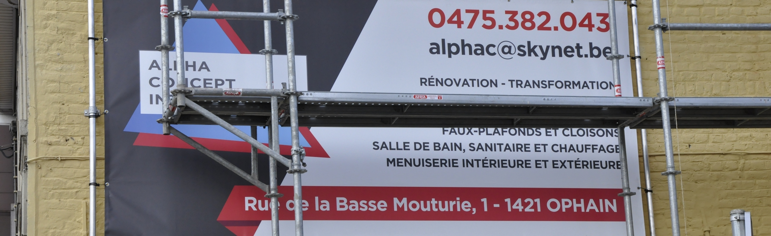affiche de alpha concept international